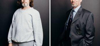 15 hommes avant et après avoir été relookés, pour prouver que l'habillement change tout