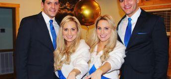 Un duo de couple atypique avec des vraies jumelles et des vrais jumeaux
