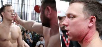 Des étranges compétitions de gifles brutales en Russie