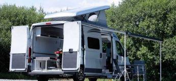 Le nouveau camping-car pour les motards de Citroën