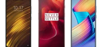Le nouveau smartphone Xiaomi Pocophone F1 à partir de 306 euros
