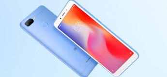 Le nouveau Xiaomi Redmi 6 en vente