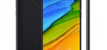 Le Xiaomi Redmi Note 5 en version mondiale à 159,30 €