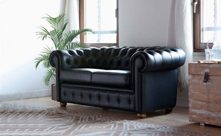 Canapé Chesterfield pas cher Menzzo