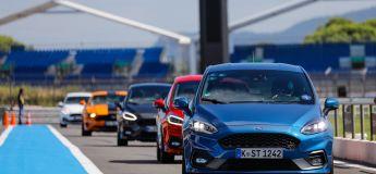 Essais Ford au Castellet: Fiesta ST, Mustang GT, Focus ST Line SW, Focus RS MK1…
