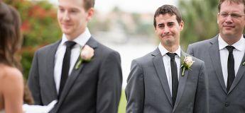 Un témoin demande la main de sa copine pendant le mariage de ses meilleurs amis, et leur vole la vedette !