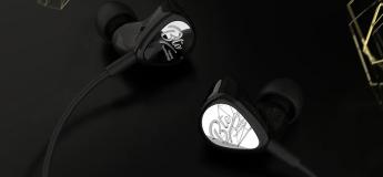 Les écouteurs intra KZ BTE Bluetooth & Waterproof à 17,24 €