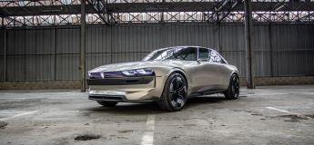 Peugeot fait revivre sa mythique 504 avec un concept électrique qui a de la gueule