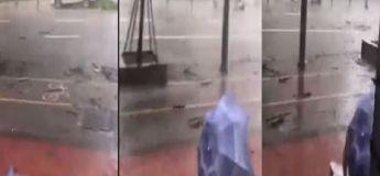 Hong Kong : le typhon Mangkhut a emporté une femme