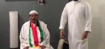 Ce père Saoudien n'apprécie pas du tout le tour de magie de la cape invisible