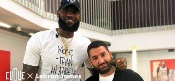 Clique x LeBron James