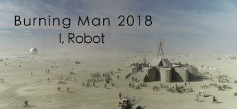 Le Burning Man 2018 vue du ciel par des drones en 4K