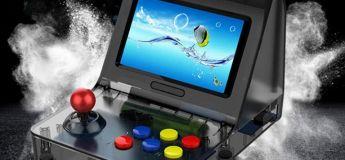 La mini console de jeu rétro portable avec 3000 jeux vidéo à 72,40 €