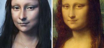 Elle se transforme en Mona Lisa grâce au pouvoir du maquillage