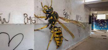 Les graffitis très réalistes d'un street artiste portugais, incroyablement talentueux