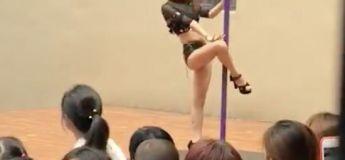 Une directrice de maternelle virée pour avoir proposée un show de Pole Dance