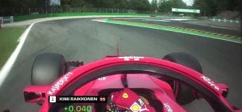 Record du tour le plus rapide en F1 par Kimi Raikkonen à Monza