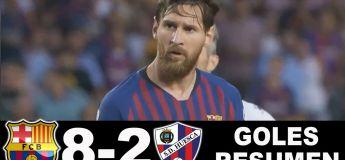 Résumé du match FC Barcelone Huesca 8-2