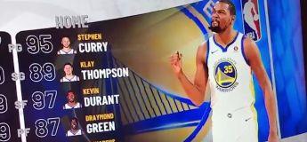 Toutes les notes des 5 majeurs de NBA 2K19