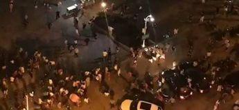 Vidéo de la voiture qui fonce sur les festivaliers en Chine