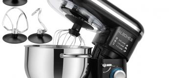 Bon plan Food : Le robot Albohes SM 1301Z-1 6 vitesses, en acier inoxydable à 96,24 €