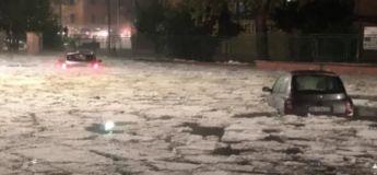 Rome est transformé en iceberg, après un immense orage de grêle (vidéo)