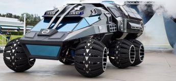 Nouvelle Batmobile ? Non, c'est le tout nouveau Rover de la NASA pour Mars