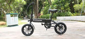Le vélo électrique pliant Alfawise YINYU14 en prévente à 374.10 €