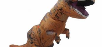 Halloween : Le costume de dinosaure gonflable à 26,39 €