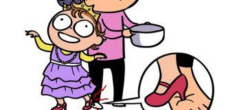 Une maman illustre avec humour les effets secondaires d'avoir un enfant de 2 ans