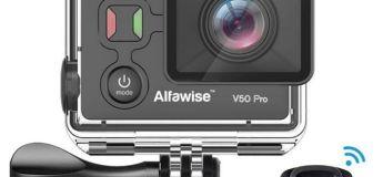 La caméra d'action EKEN Alfawise V50 Pro avec puce Ambarella A12S75 à 52,20 €