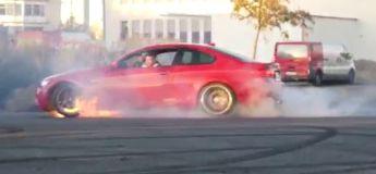 Il explose le moteur de sa BMW M3 en réalisant un peu trop de drifts