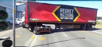 Ne jamais regretter, la remorque d'un camion n'a jamais aussi bien porté son nom