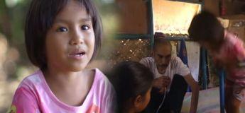 À 8 et 6 ans, deux enfants utilisent une pompe à pneu comme nébuliseur pour leur père malade