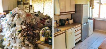 Les pros du nettoyage vous montrent leur travail titanesque