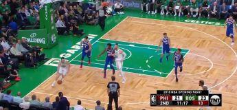 Résumé de Boston Celtics vs Philadelphia Sixers du 16 octobre 2018