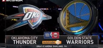 Résumé du match Golden State Warriors vs Oklahoma City Thunder (Saison NBA 2018/2019)