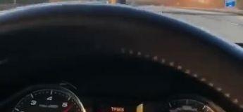 Un conducteur en AudiRS6 se filme à 378 km/h sur une autoroute