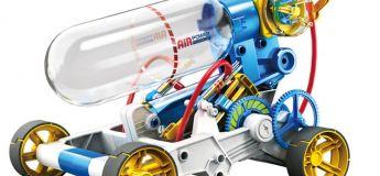 La voiture à moteur aérodynamique pour enfants Qizhi DIY en promotion pour Noël