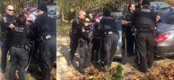 Un afro-américain agit en bon samaritain et il est arrêté devant son propre domicile
