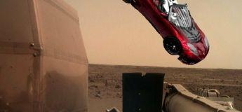 L'atterrissage de la nouvelle sonde InSight sur Mars, a causé des réactions hilarantes