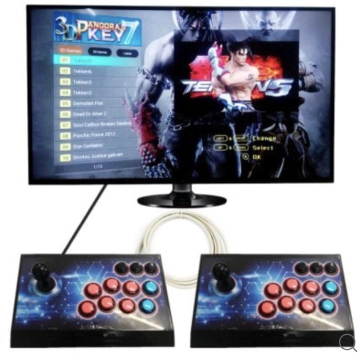 La console de jeu d arcade 3d avec 2177 jeux en promo moins de 150 - Console jeux video pas cher ...