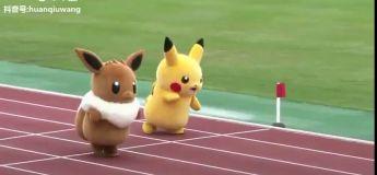 Des mascottes Pokemon s'affrontent au 100m relais, retrouverez vous la position de Kylian MBappé ?