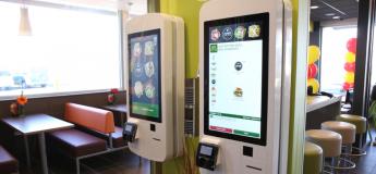 Des traces de matières fécales découvertes sur les écrans tactiles de McDonald's