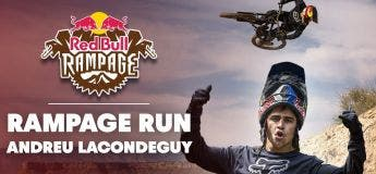 La performance de dingue de Andreu Lacondeguy au Red Bull Rampage 2018