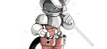 De magnifiques illustrations de chats himalayens guerriers par une artiste graphique