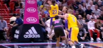 Résumé du match Los Angeles Lakers vs Miami Heat (LeBron James 51 points)