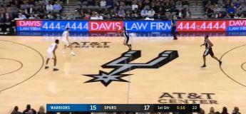 Résumé Golden State Warriors vs San Antonio Spurs