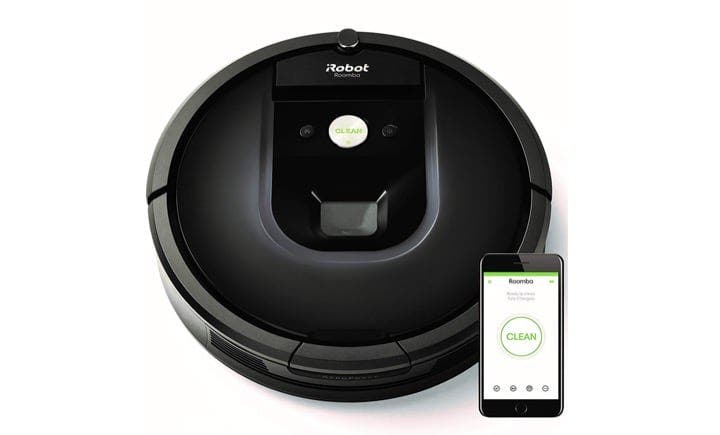 pr s de 50 sur les robots aspirateurs irobot roomba neato botvac rowenta blackfriday. Black Bedroom Furniture Sets. Home Design Ideas