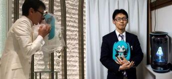 Un homme japonais dépense 18 000 euros pour fêter son mariage à un hologramme